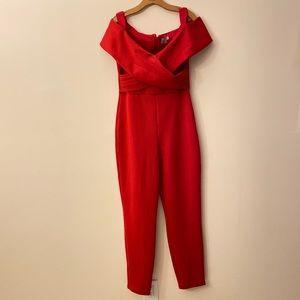 NWOT ASOS Red Jumpsuit